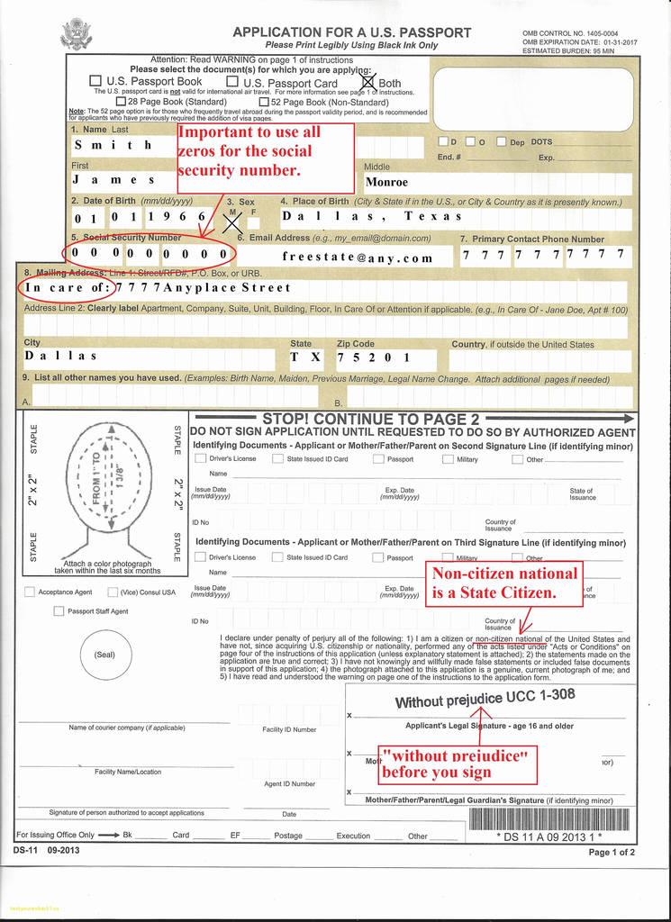 Ghana Visa Application Form Pdf New Where Can I Get A Passport Application Form ? Form Ds 11 Passport