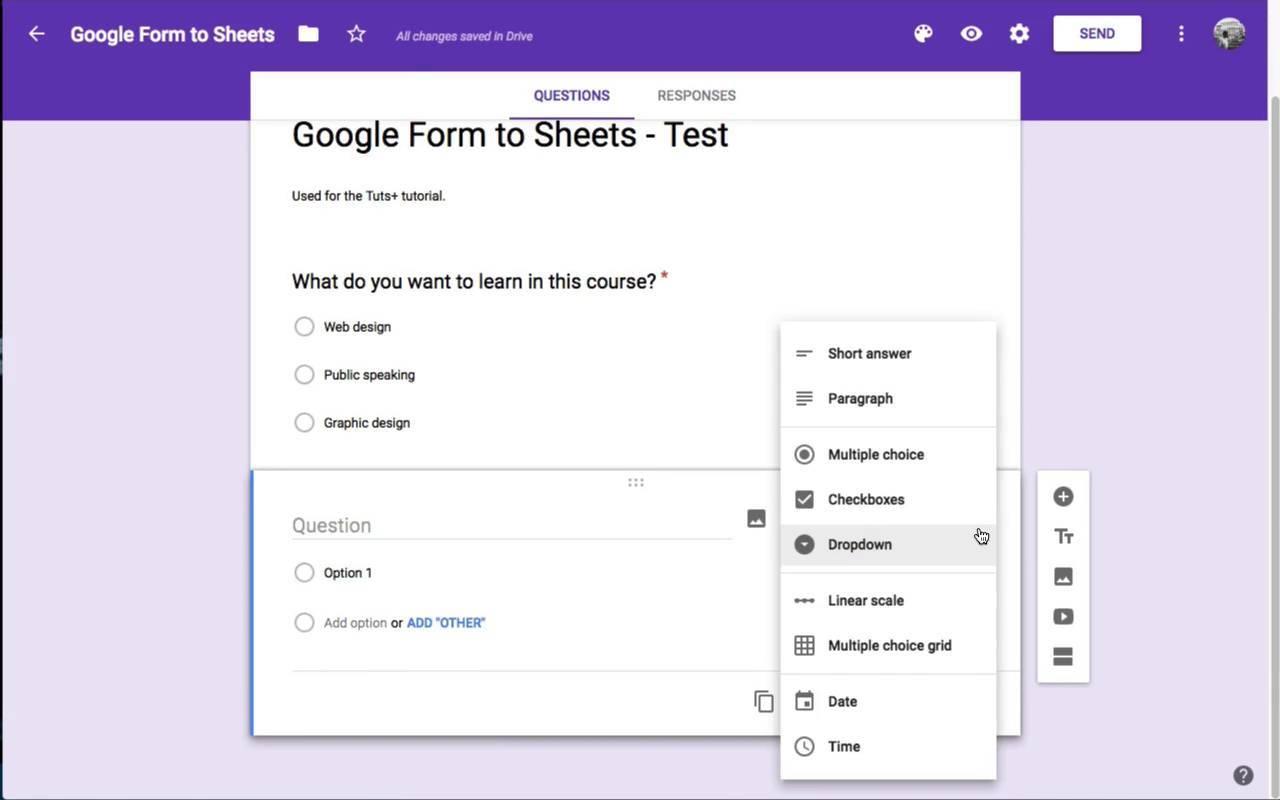 Google.pl Forms