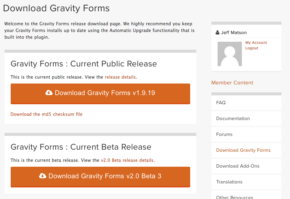 Gravity Forms Discount Download