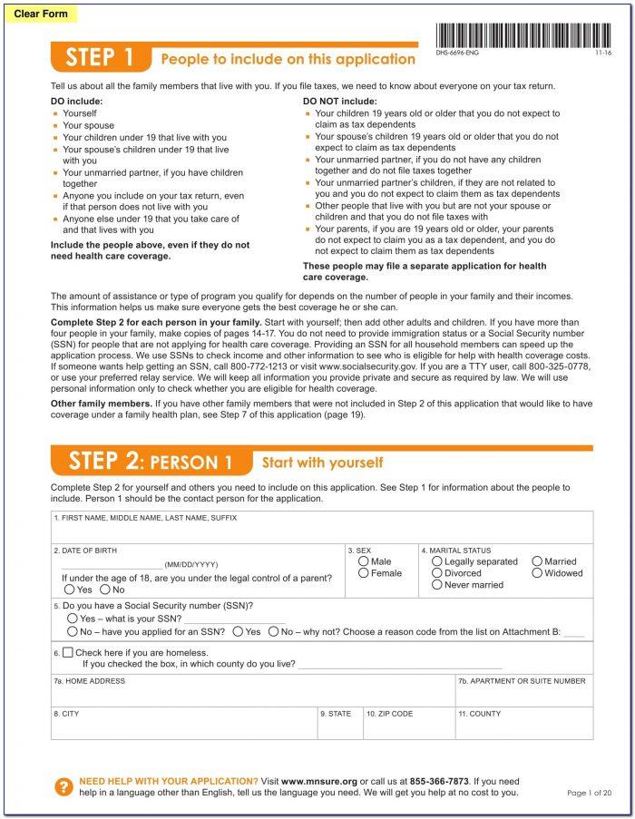 Gsa Common Form Application