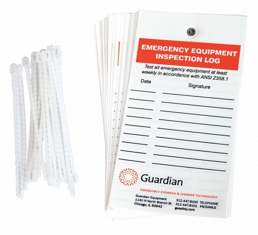 Guardian Harness Inspection Form