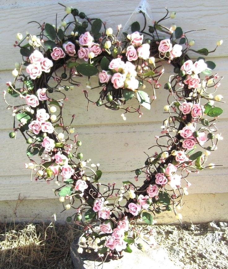 Heart Shaped Twig Wreath Form