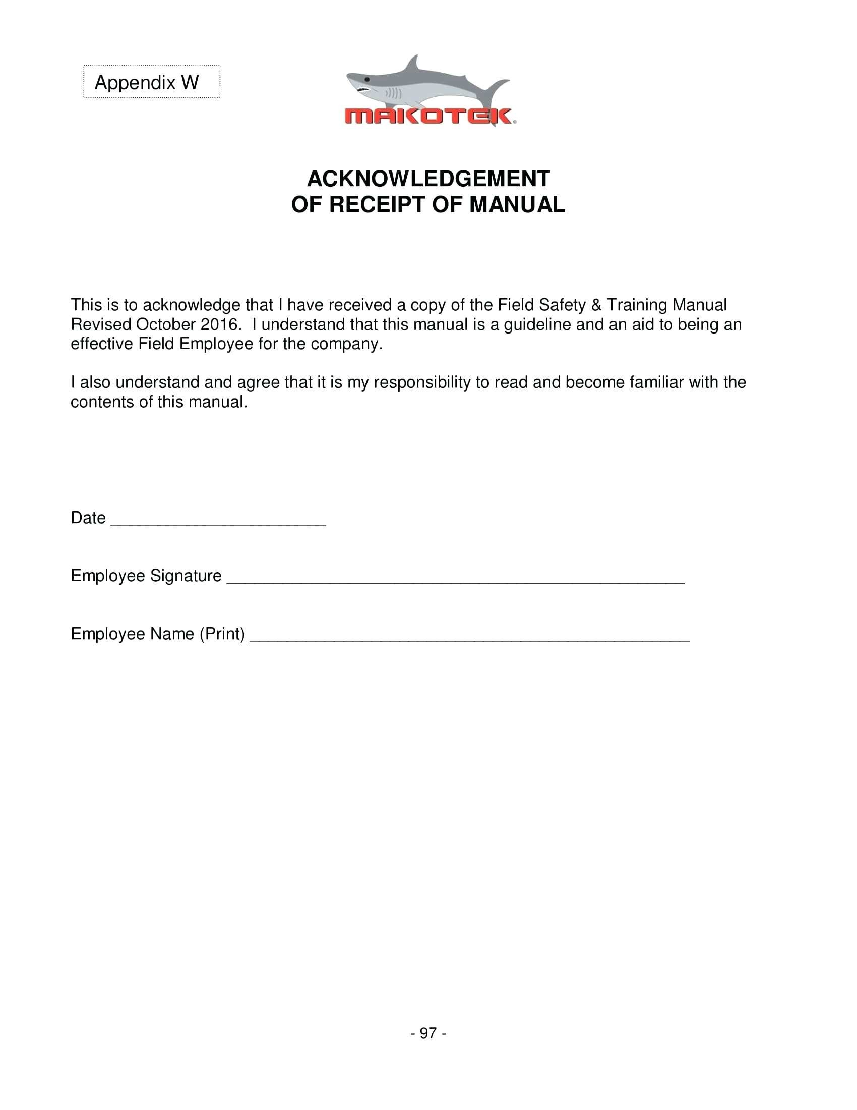 Hipaa Acknowledgement Form In Spanish