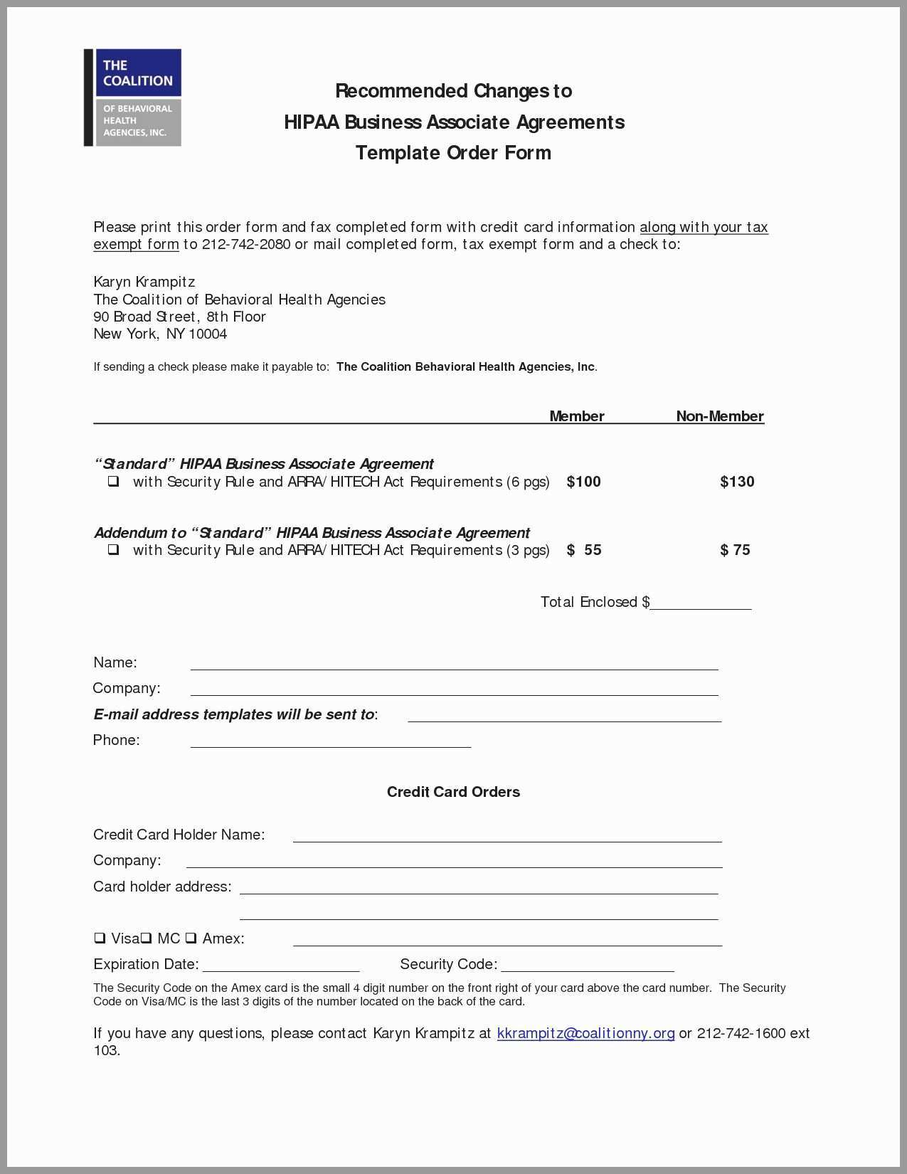 Hipaa Compliance Agreement Template Great Hipaa Consent Form Sample New 44 Great Hipaa Agreement Form