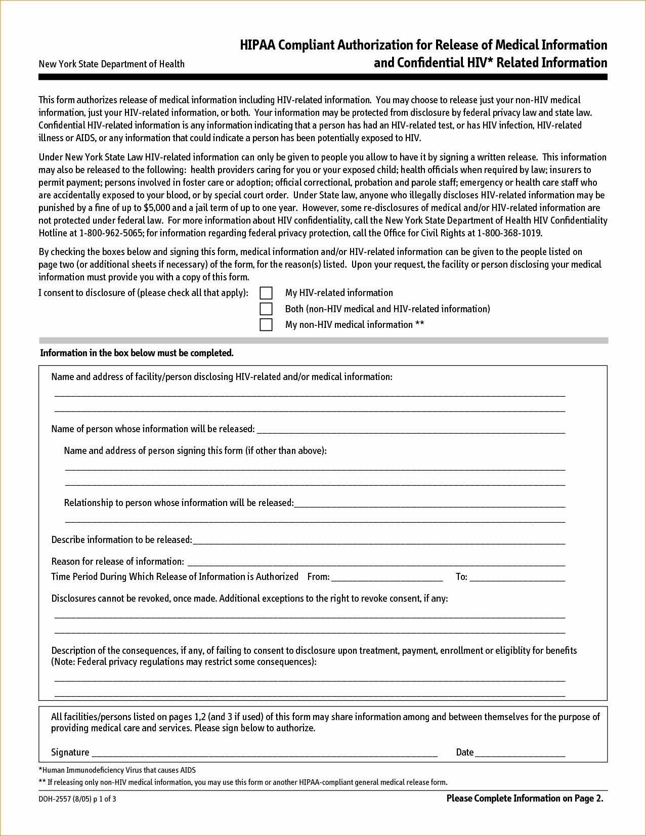 Hipaa Compliant Authorization Form Massachusetts