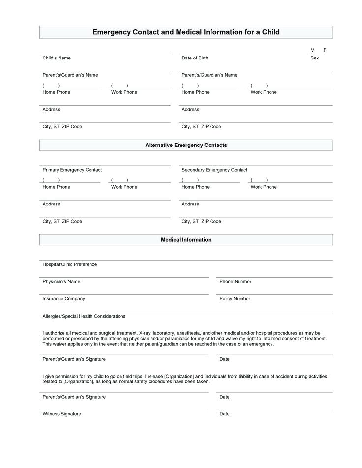 Home Daycare Registration Forms