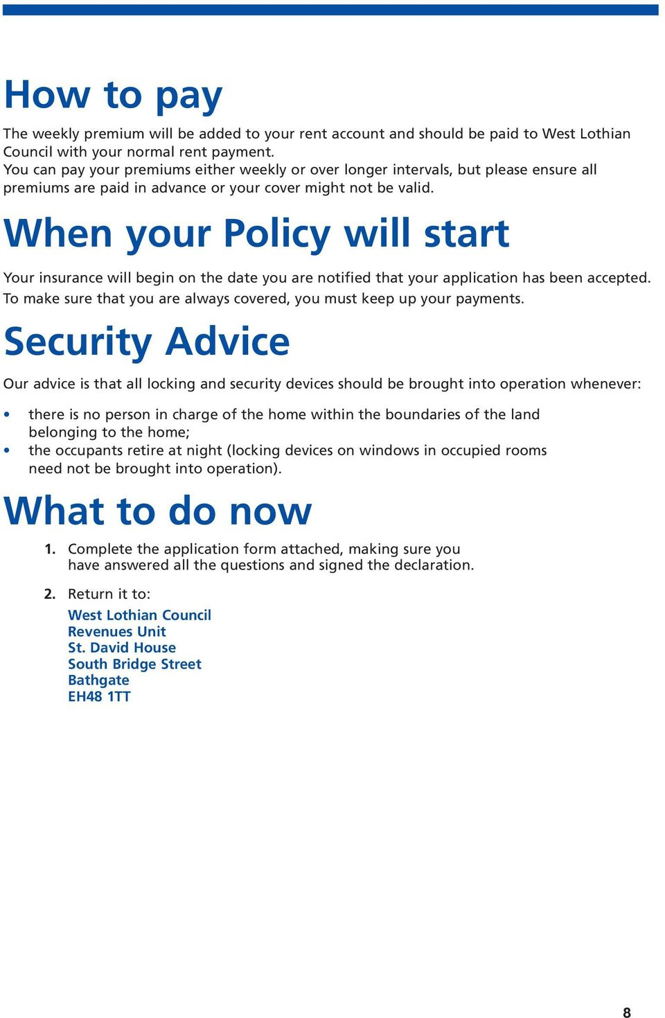 Home Insurance Application Form Pdf
