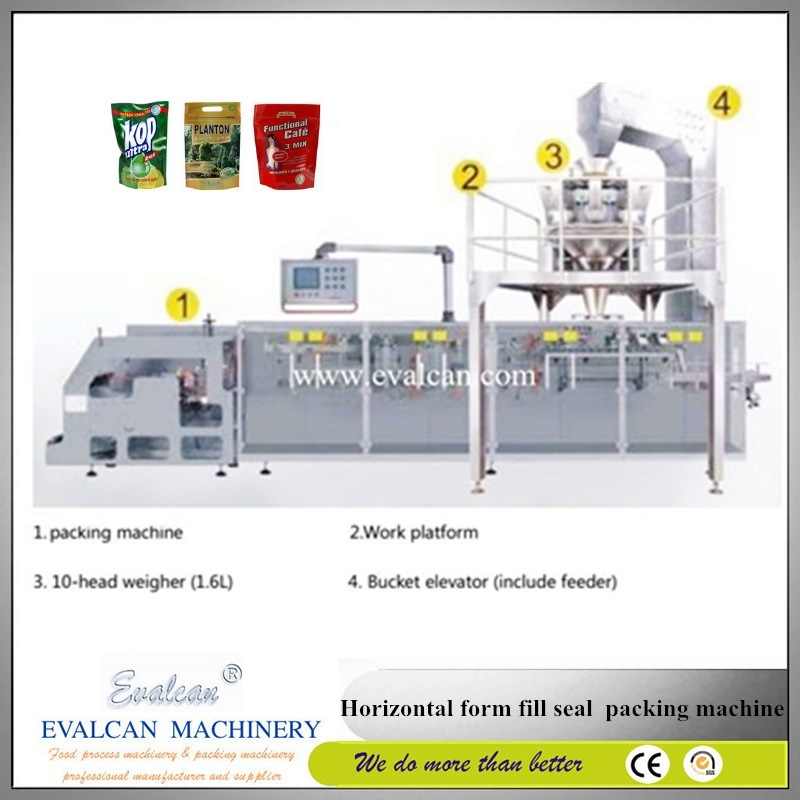 Horizontal Form Fill Seal Packaging Equipment