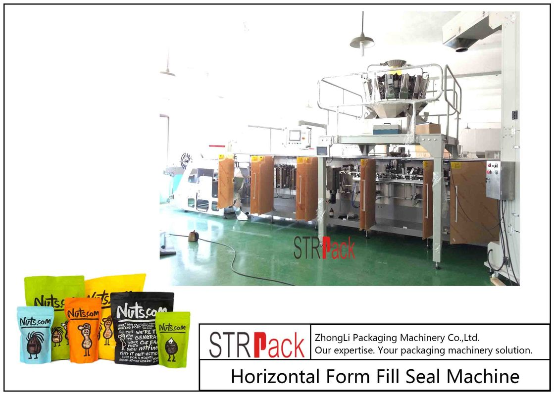 Horizontal Form Fill Seal Packaging Machine