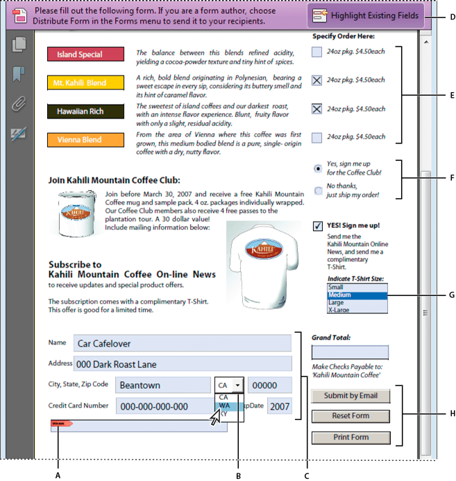 How To Create A Fillable Form In Pdf Acrobat 9