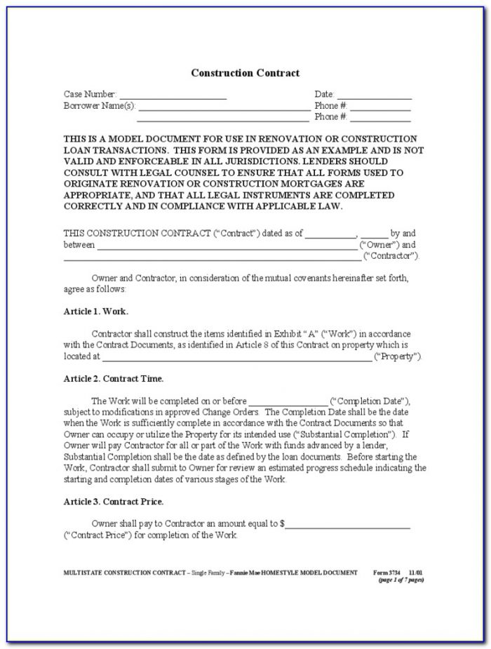How To Fill Out A 1099 Form For Contractors