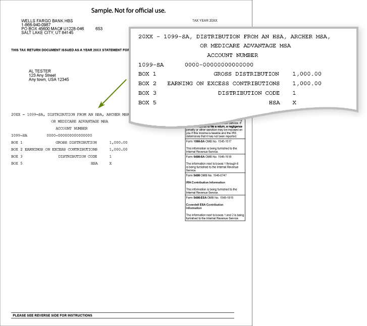 How To Fill Out Form 1099 Sa