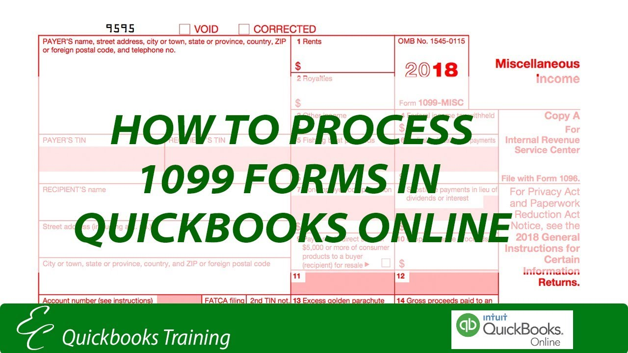 How To Process 1099 Forms In Quickbooks