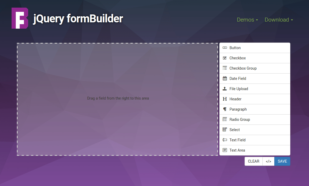Html5 Form Designer Open Source
