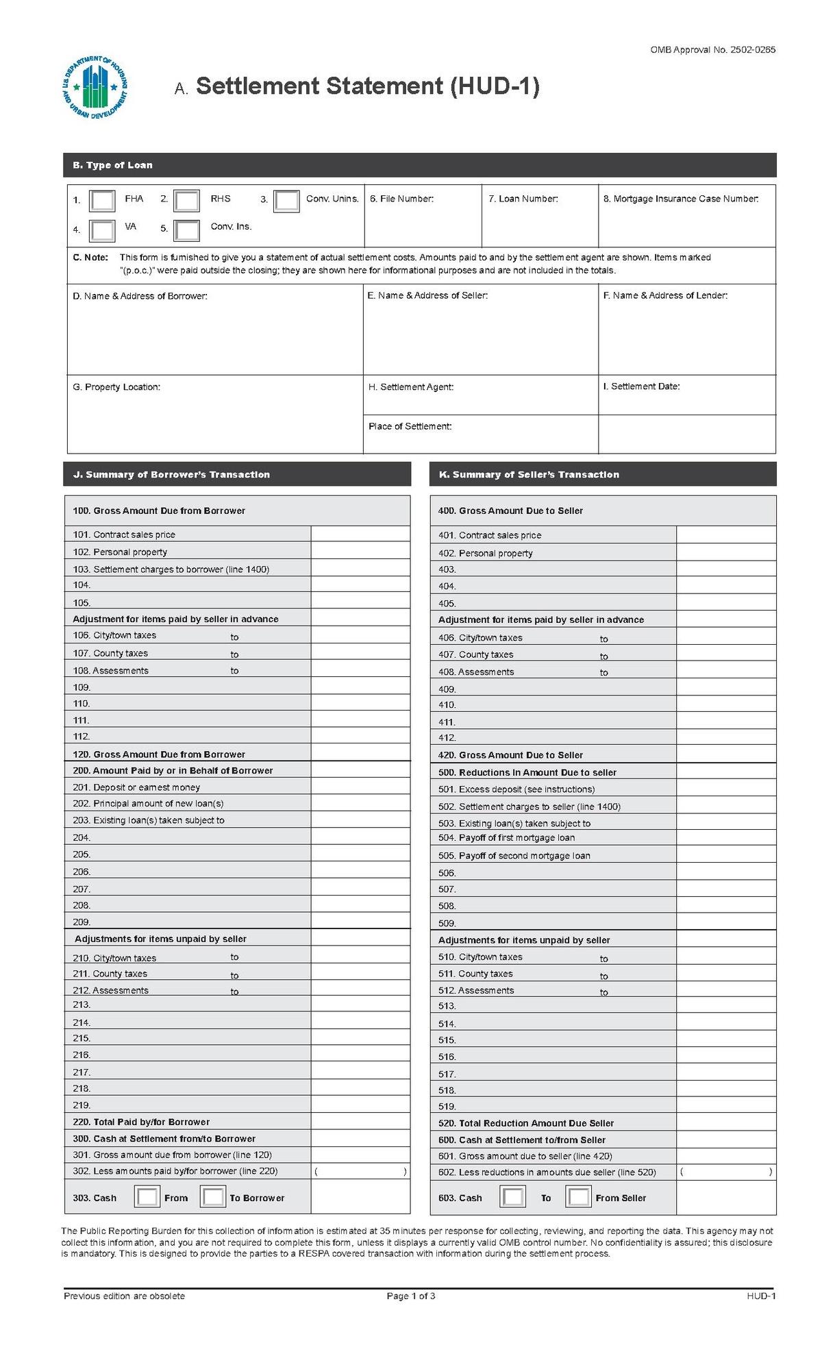 Hud Application Form For Housing Online