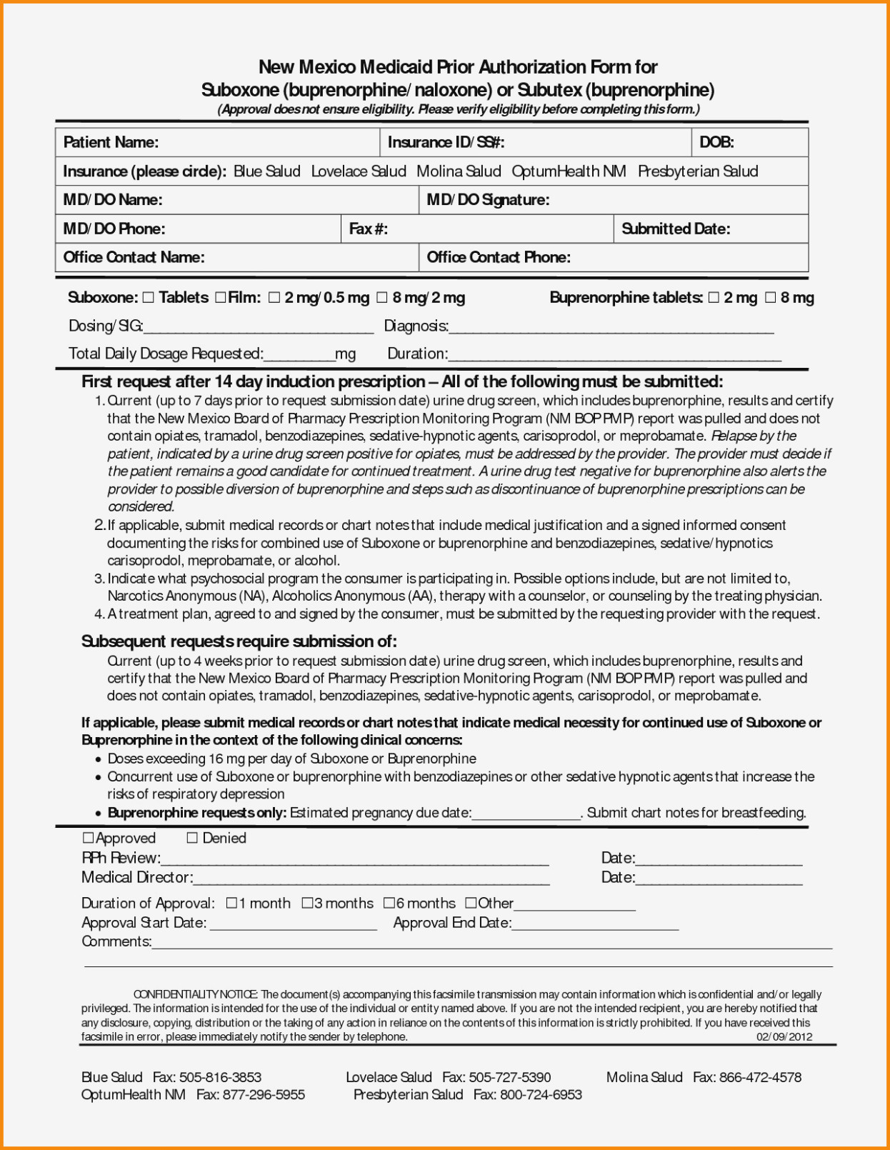 Humana Prior Authorization Form For Xarelto