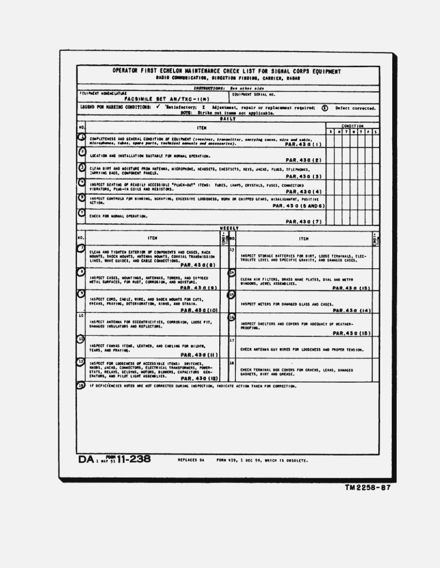 Hvac Preventive Maintenance Forms Pdf