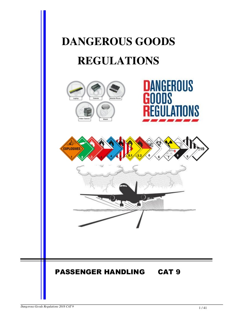 Iata Dangerous Goods Incident Report Form