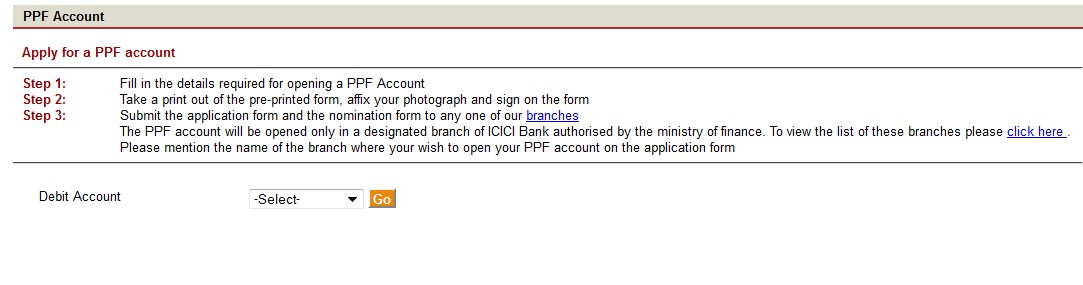 Icici Bank Account Opening Form Salary