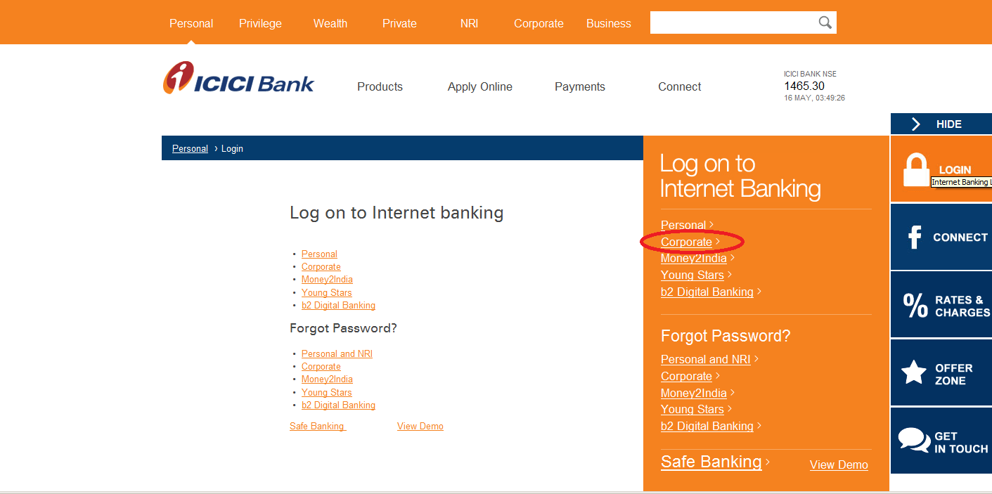 Icici Bank Nri Account Opening Form Download