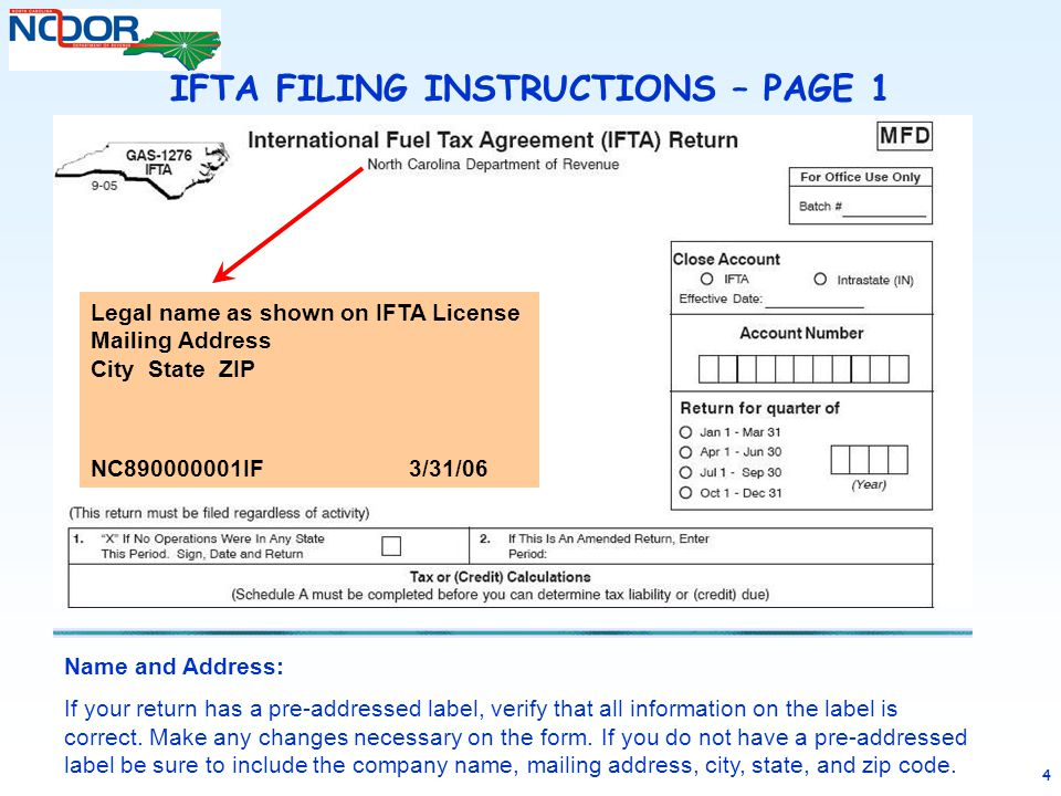 Ifta Reporting Form Missouri