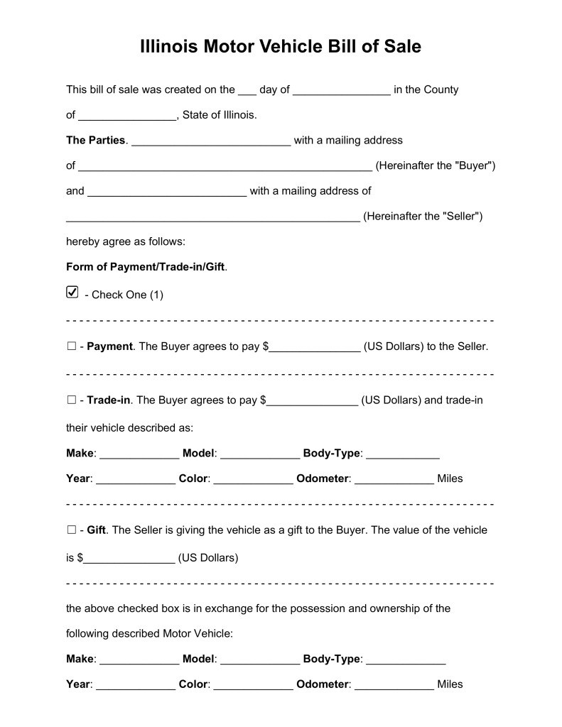 Illinois 5 Day Eviction Notice Form