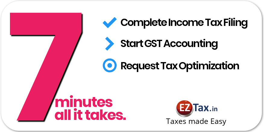 Income Tax Filing Form India