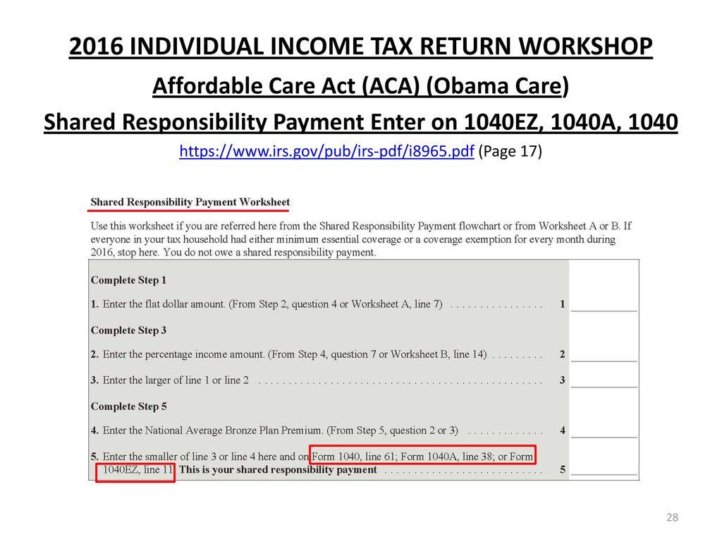 Income Tax Return Form 2016 17 Pdf