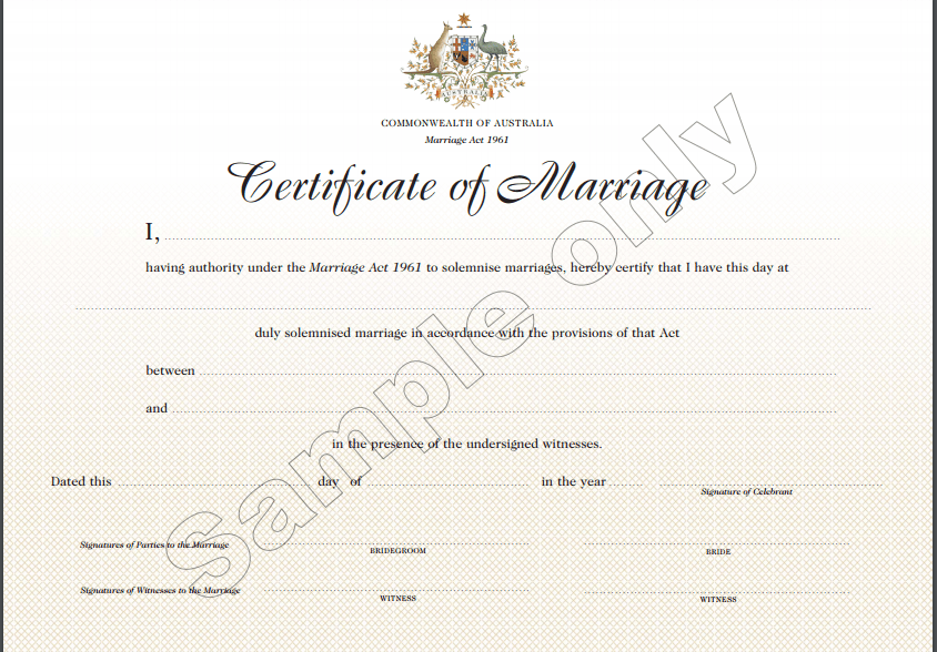Indian Muslim Marriage Registration Form