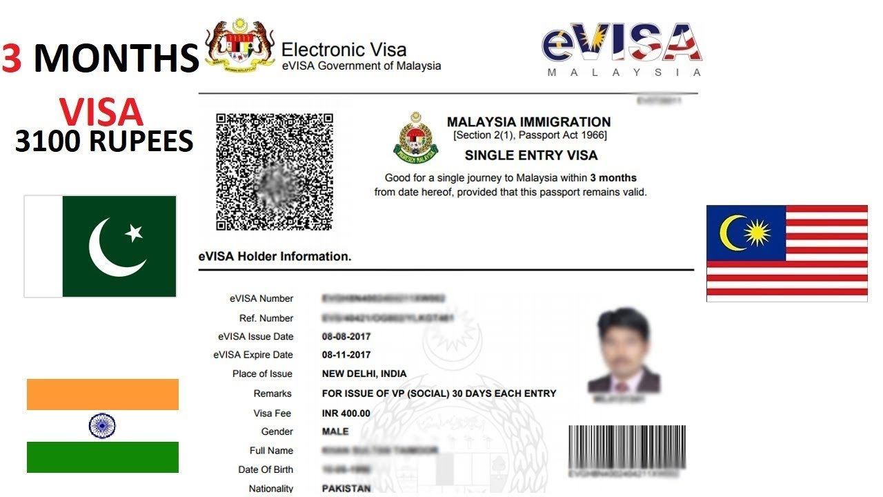 Indian Tourist Visa Application For Malaysian