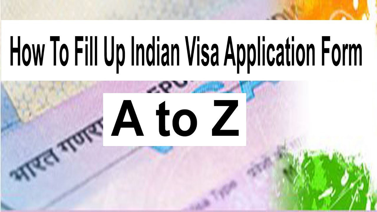Indian Visa Application Form For Bangladeshi