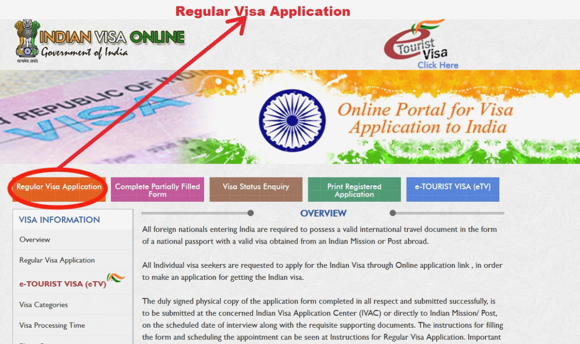 Indian Visitor Visa Application Form Pdf