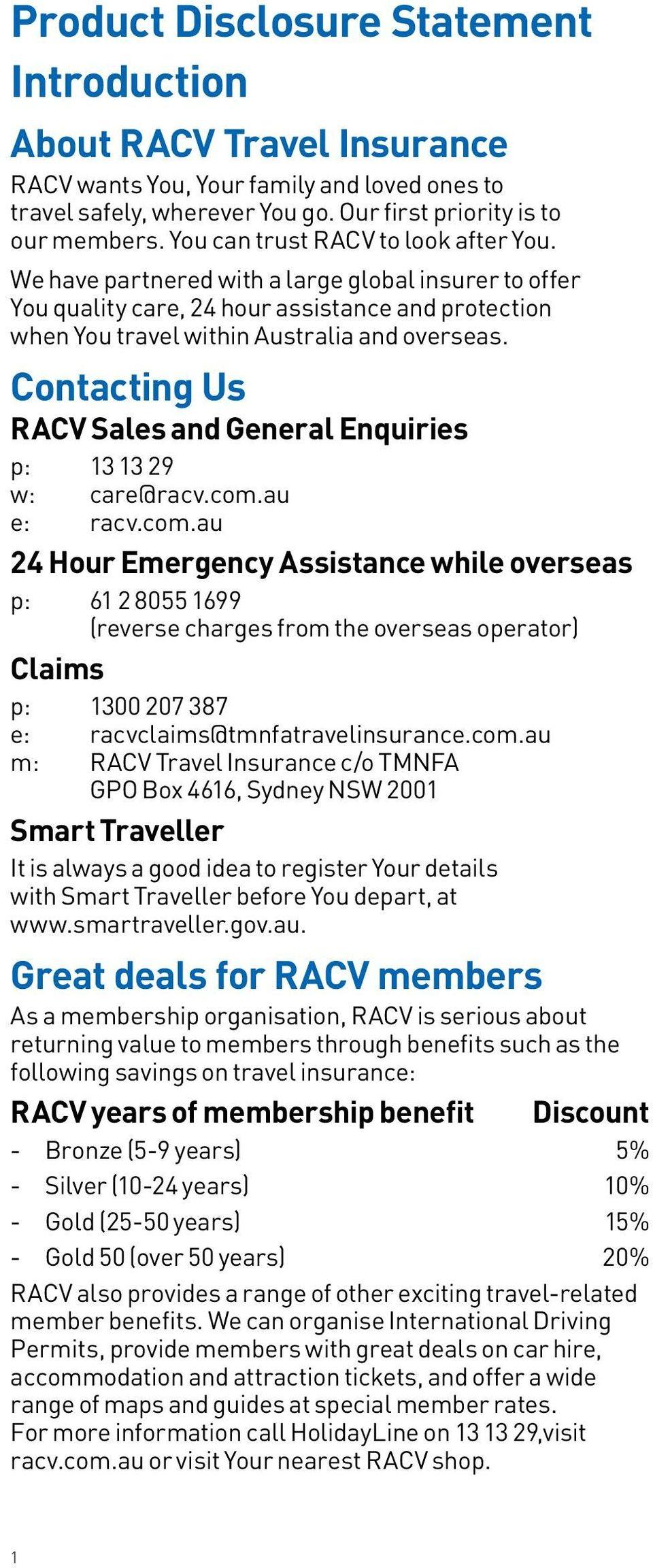 International Driving Permit Application Form Racv