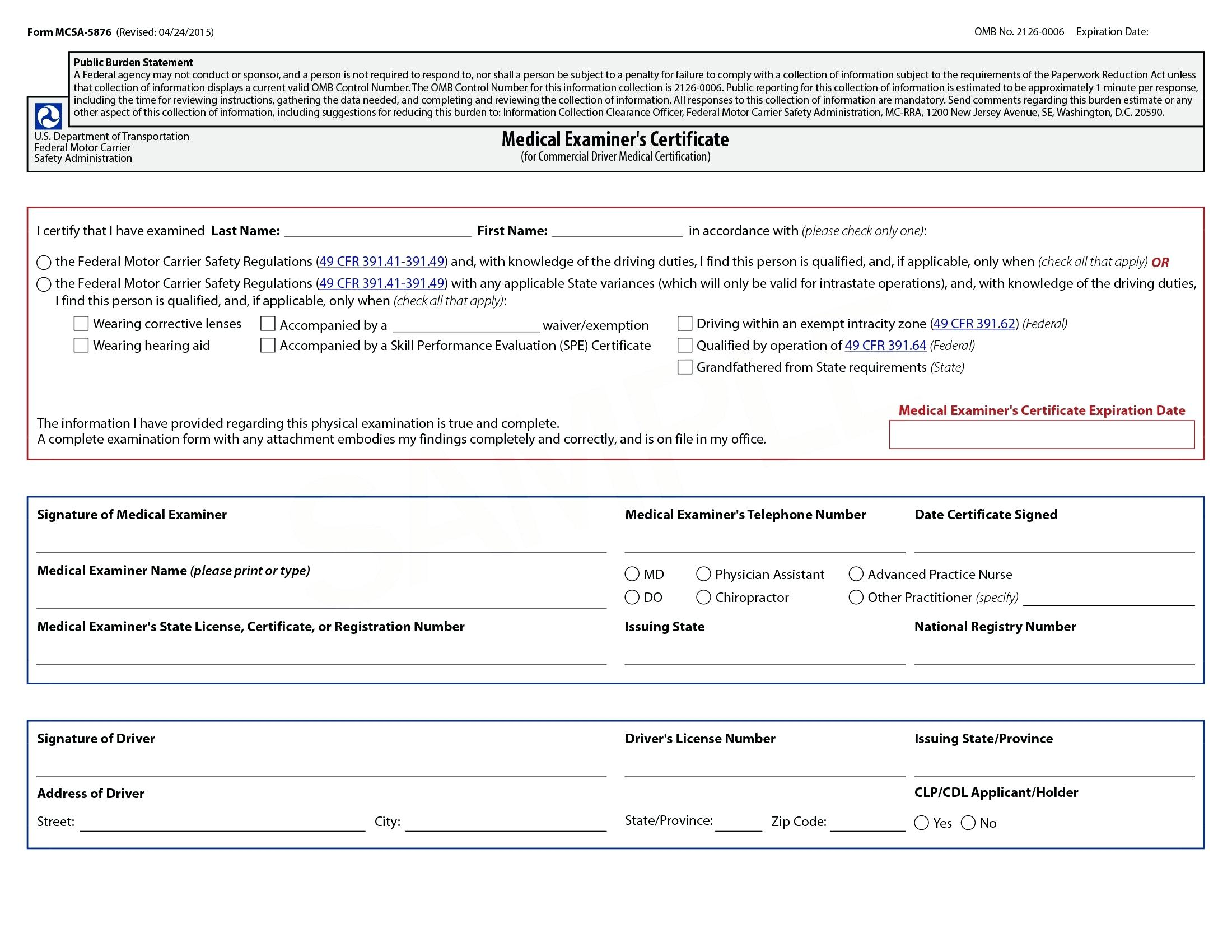 Iowa Dot Truck Inspection Form