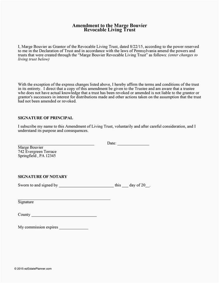 California Living Trust Form Examples California Living Trust Form Amendment Recent 692 ? Frazierstatue