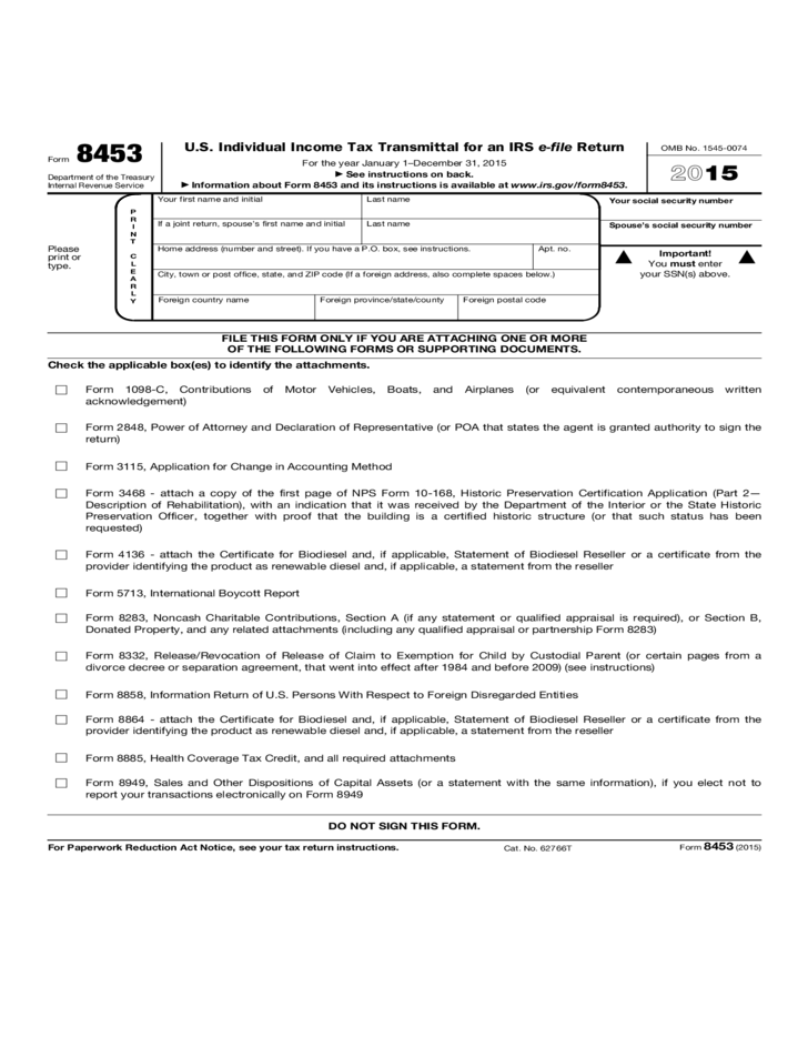Irs 1040 Form 2015 Printable