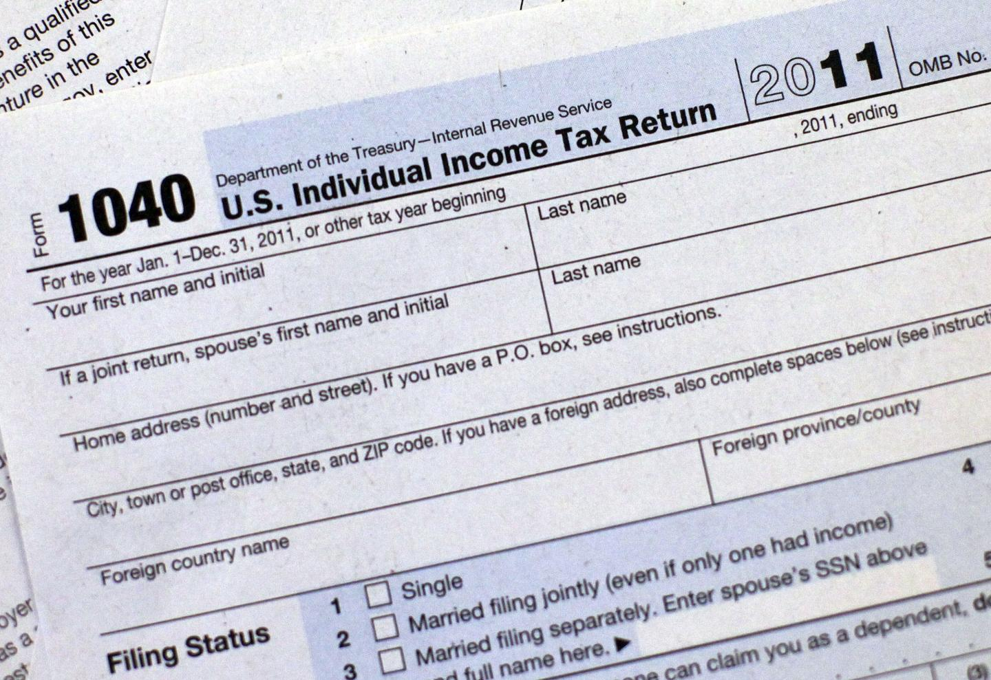 Irs 1040a Forms 2018