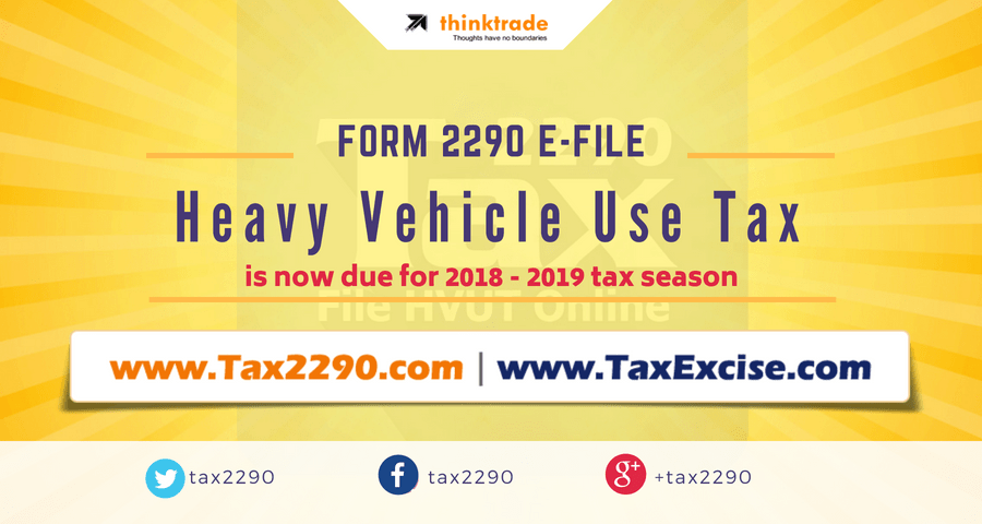 Irs 2290 Tax Form