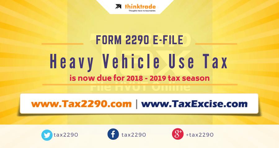 Irs 2290 Tax Form