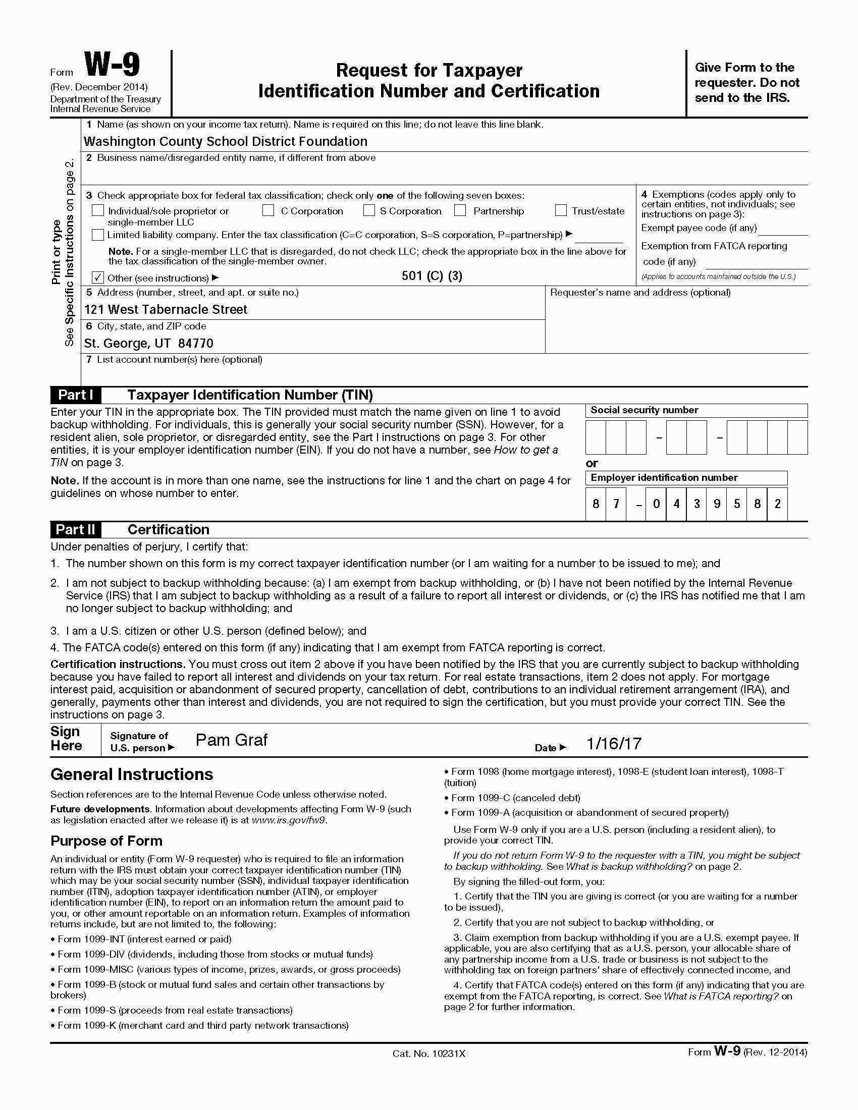 Irs 501c3 Name Change Form