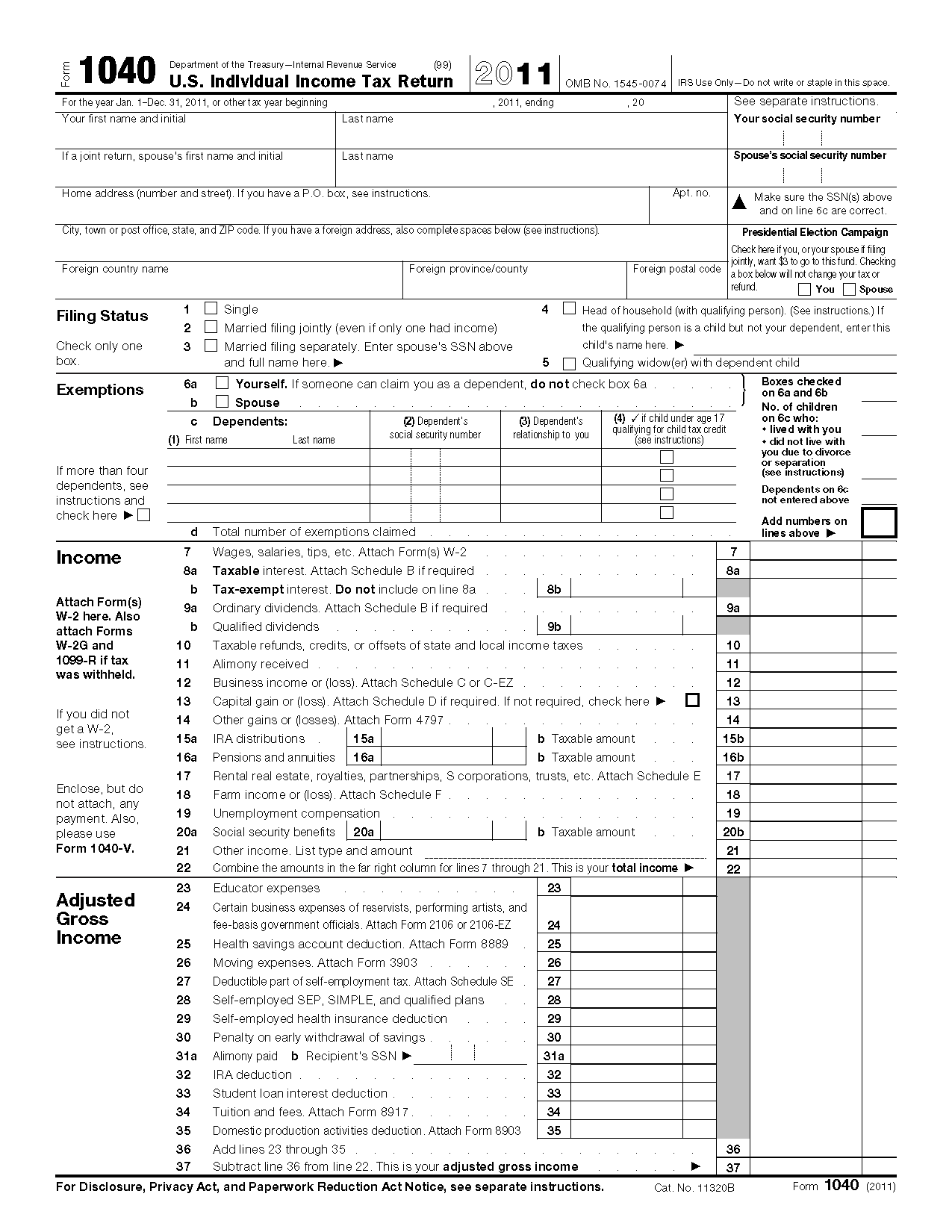 Irs Ez Forms 2017