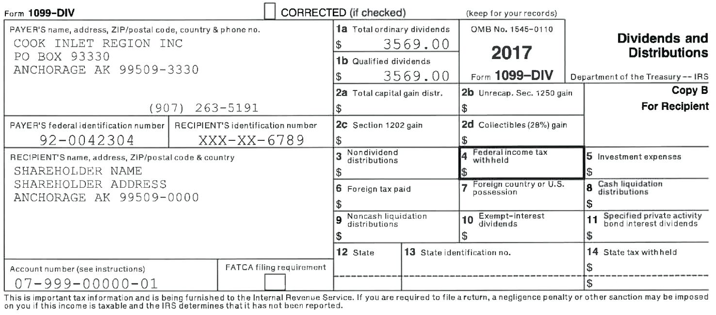 Irs Form 1099 Int Instructions 2017