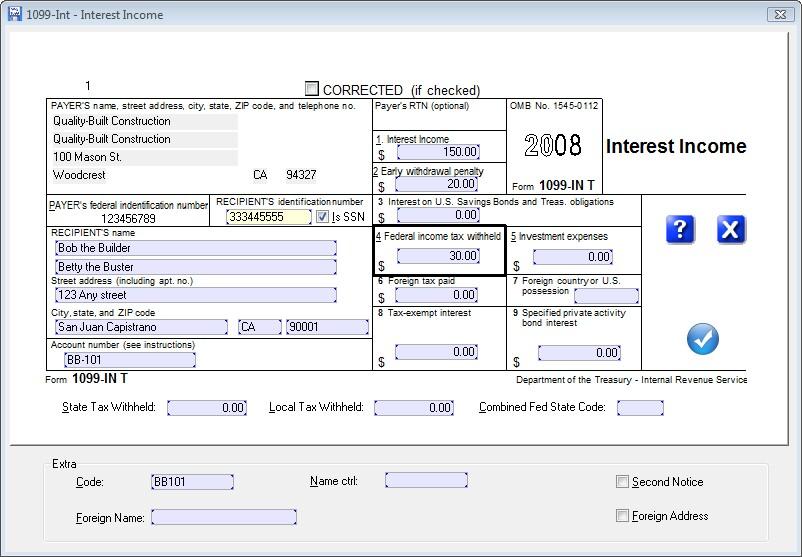 Irs Form 1099 Interest 2016