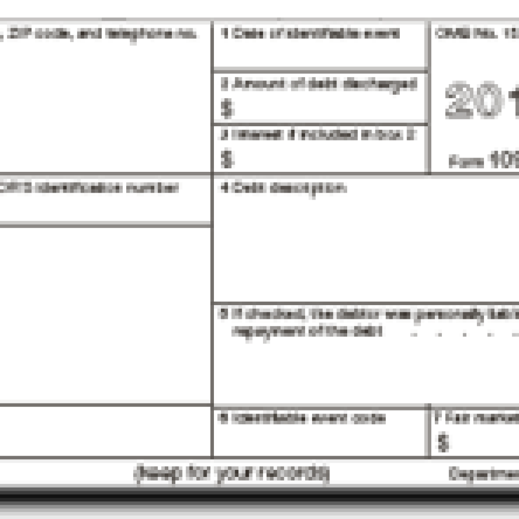Irs Form 1099 Real Estate Sale