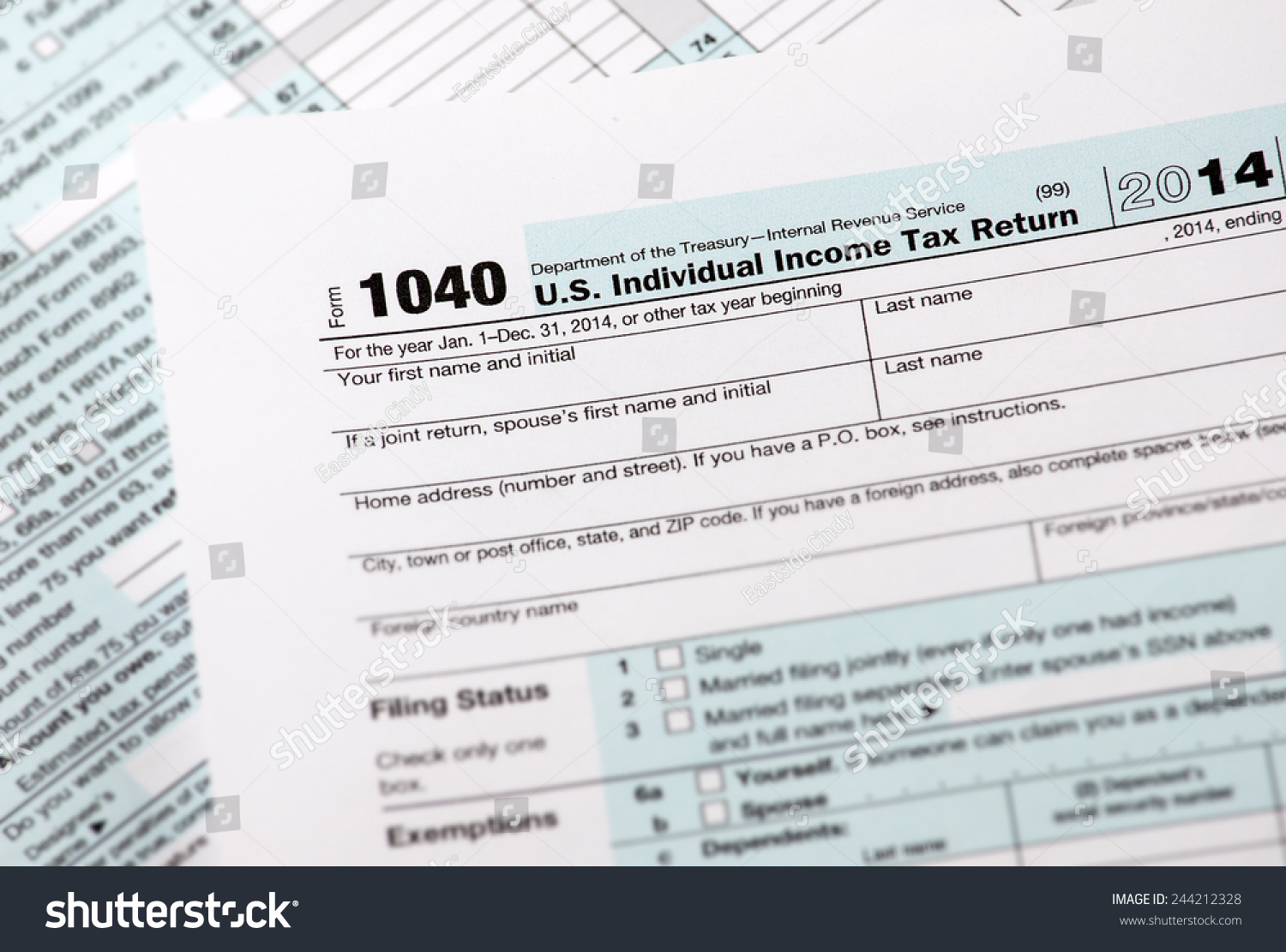 Irs Income Tax Ez Form
