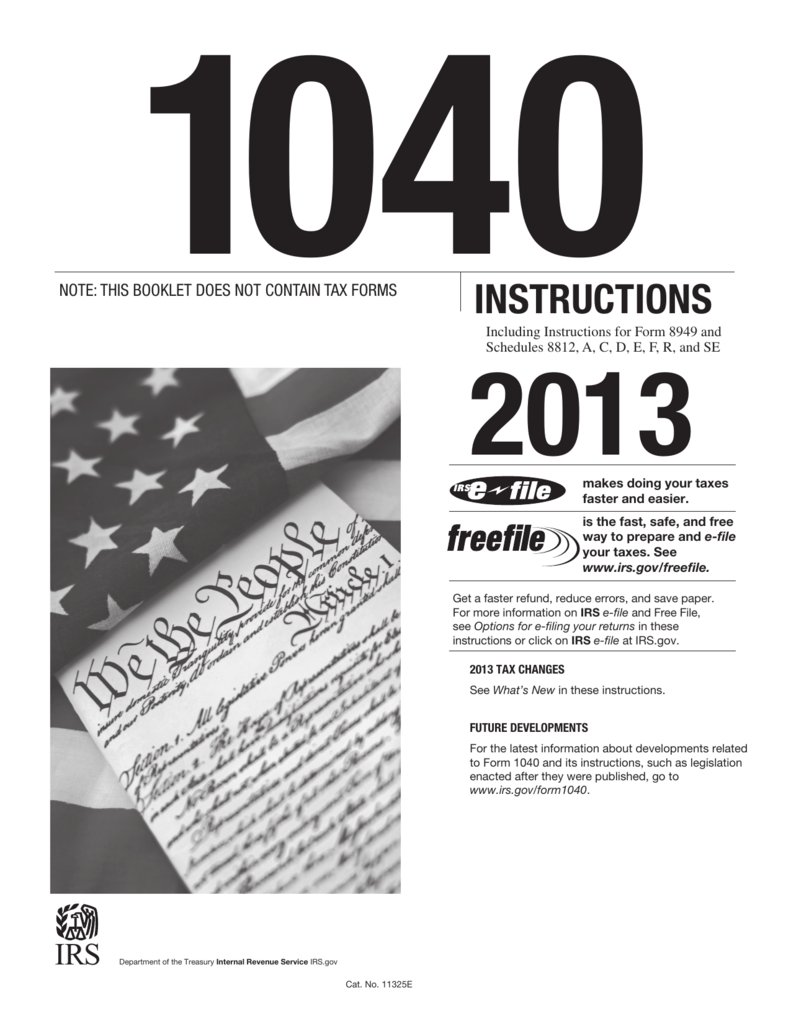 Irs.gov 2013 Form 1040 Schedule A
