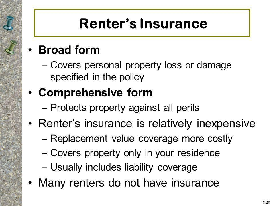 Iso Renters Policy Form