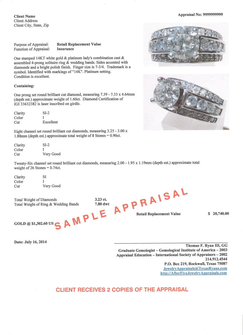 Jewelry Appraisal Template Download