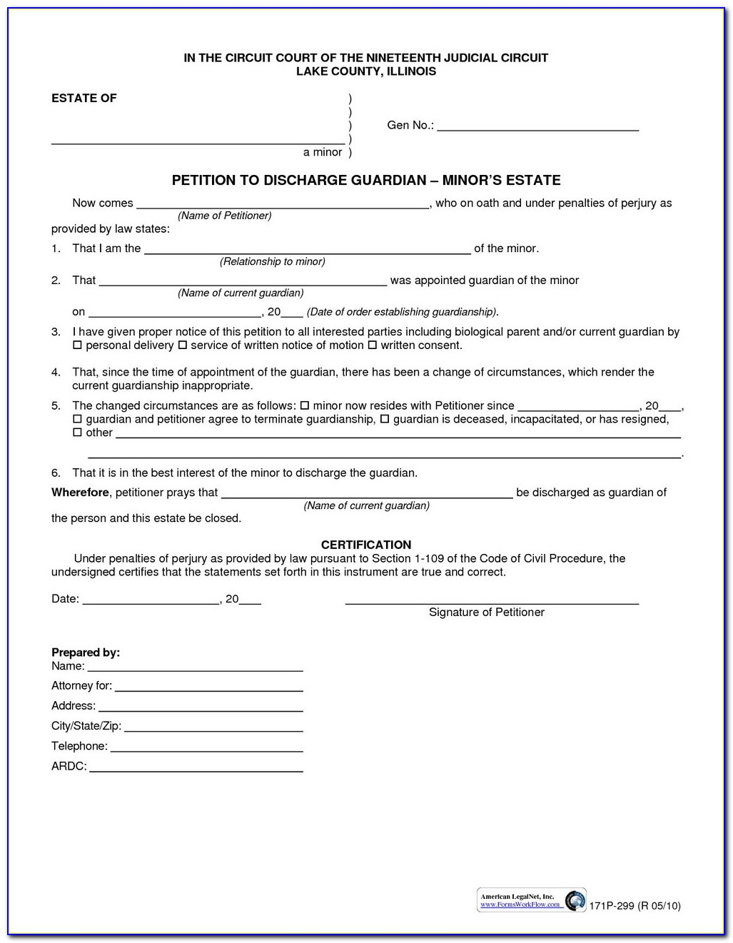 Joint Divorce Petition In Illinois
