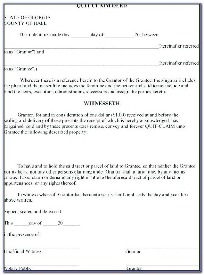 Joint Tenancy Quit Claim Deed Form Oklahoma